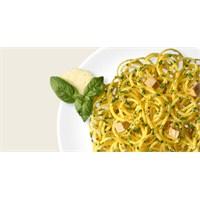 Ançüez, Tavuk Ve Pestolu Spaghetti Makarna