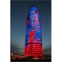 """Barselona'nın Güzel Binası """"Torre Agbar"""""""