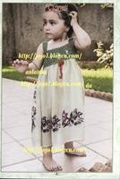 Tülbentten Çocuk Elbise Yapımı
