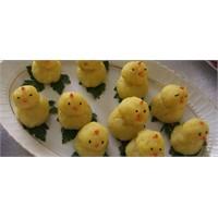 23 Nisan Çocukları İçin Civcivli Yumurta Tarifi