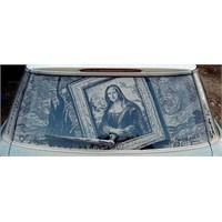 Kirli Araba Camı Sanatçısı Scott Wades Çalışmaları