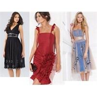 Pileli Elbise Modelleri