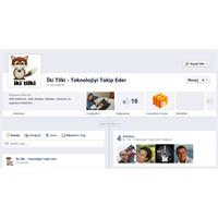 Facebook Sayfalarına Yeni Tasarım