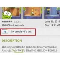 Android Market Uygulaması Yenilendi!