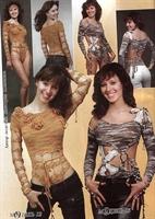Seksi Örgü Elbise Ve Body Modeli