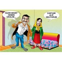 Seçim İçin Hazırlanmış Güzel Bir Karikatür