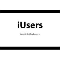 İusers İpad İçin Çoklu İpad Kullanıcıları