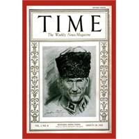 Time Atatürk' Ü Böyle Kapak Yaptı