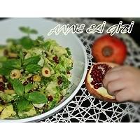 Narlı,  Yeşil Zeytinli Harika Bir Patates Salatası