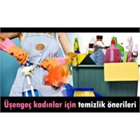 Tembel Kadınlara Özel Temizlik Önerileri