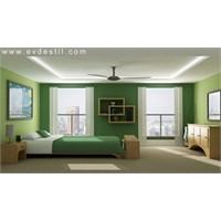 Yesil Renkli Yatak Odaları