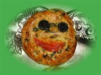 Ispanaklı Gülenyüz Çörek:)