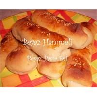 Mayalı Hamurdan Rulo Çörekler
