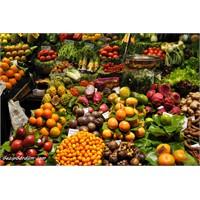Rengarenk Tropikal Meyveler -barselona La Boqueria