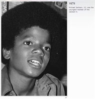 Michael Jackson-1972-2009 a Değişimi