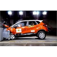 Renault Captur'a Güvenlikte 5 Yıldız...