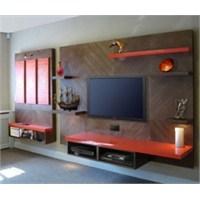 Salon Ve Mutfaklar İçin Televizyon Yerleşimi
