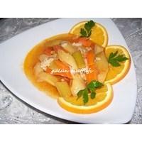 Portakallı Zeytinyağlı Pırasa