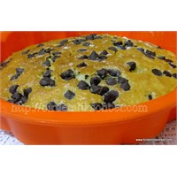 Çikolatalı Badem Aromalı Kek