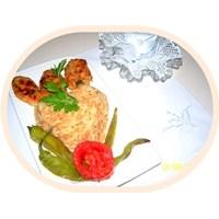 Tavuk Köftesi Ve Arpa Şehriye Pilavı