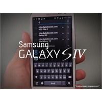 Samsung Galaxy S4 Performans Testinde Görüntülendi