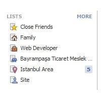 Facebook Listeler Özelliğini İnceledim