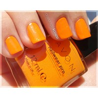 Günün Ojesi... Avon - Orange Creamsicle