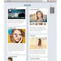 Facebook Tarzı 'postline' Wordpress Teması