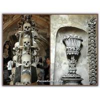 Ölü Kemiklerinden Dekore Edilmiş Olan Şapel