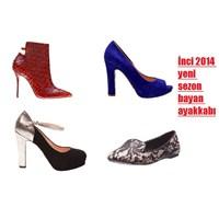 İnci Bayan Ayakkabı Modelleri 2014