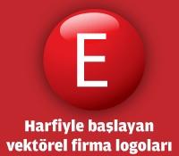 E Harfiyle Başlayan Vektörel Logolar