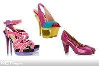 2010 Yazında Ayakkabılar Rengarenk