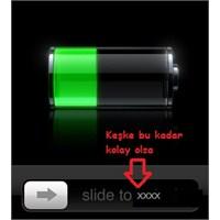Şarj Bitti, Cihaz Kapatılıyor