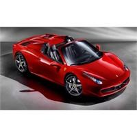 Ferrari 458 İtalia'nın Üstünü Açtılar
