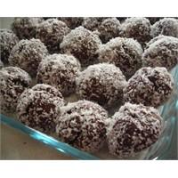 Kakaolu hindistan cevizli toplu tatlılar yapıyoruz