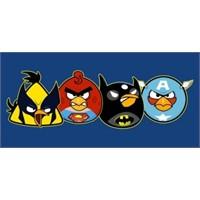 Angry Birds İle Batman Dünyası