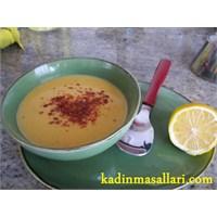 Ramazanda Mercimek Çorbası