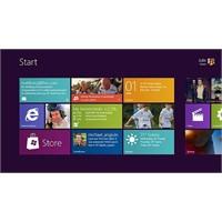 Windows 8 Arayüzü - Genel Bilgi