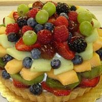 Taze Meyveli Tart...