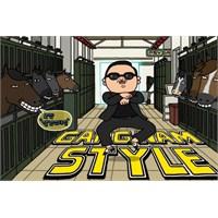 Gangnam Style Kamera Arkası