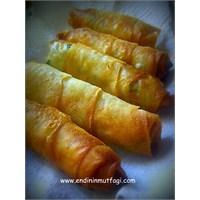 3 Peynirli Yeşil Soğanlı Sigara Böreği