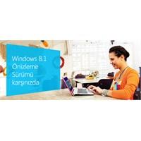 Windows 8.1 Önizleme Sürümü Yayınlandı
