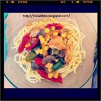 Öğrenci İşi Yemek Tarifleri: Rengarenk Tavuk