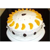 Damalı Yaş Pasta