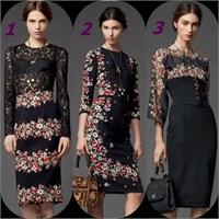 2013 2014 Sonbahar Kış Elbise Modası