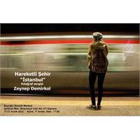 Zeynep Demirkol Hareketli Şehir İstanbul Sergisi
