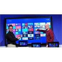 Dünyanın En Büyük Dokunmatik Ekranı Win 8'de