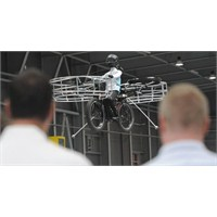 Uçan Bisiklet Prototipi Testi Başarıyla Geçti
