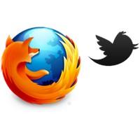 Twitter'lı Firefox