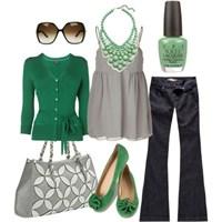 Günün Kombini; Yeşil